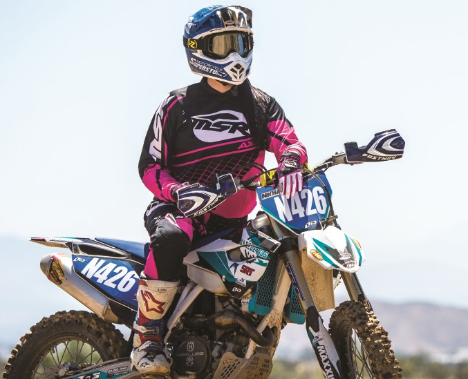 Dirt Bike Girls. Ride Like Hell and Dressed to Kill