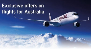 Exclusive offers on flights from Australia